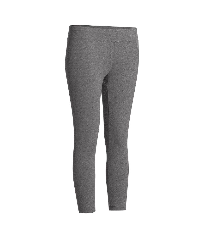 DOMYOS Comfort Slim 7/8 Women's Strength Training Leggings By Decathlon
