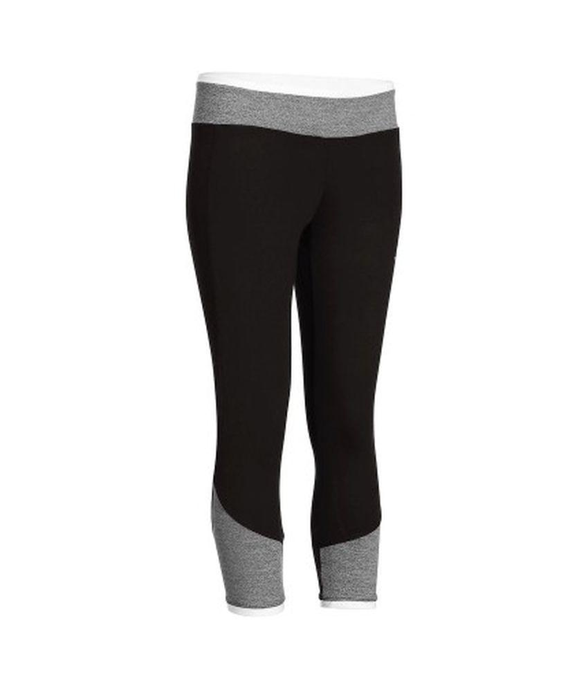 DOMYOS Energy 7/8 Bico Women's Cardio Leggings By Decathlon