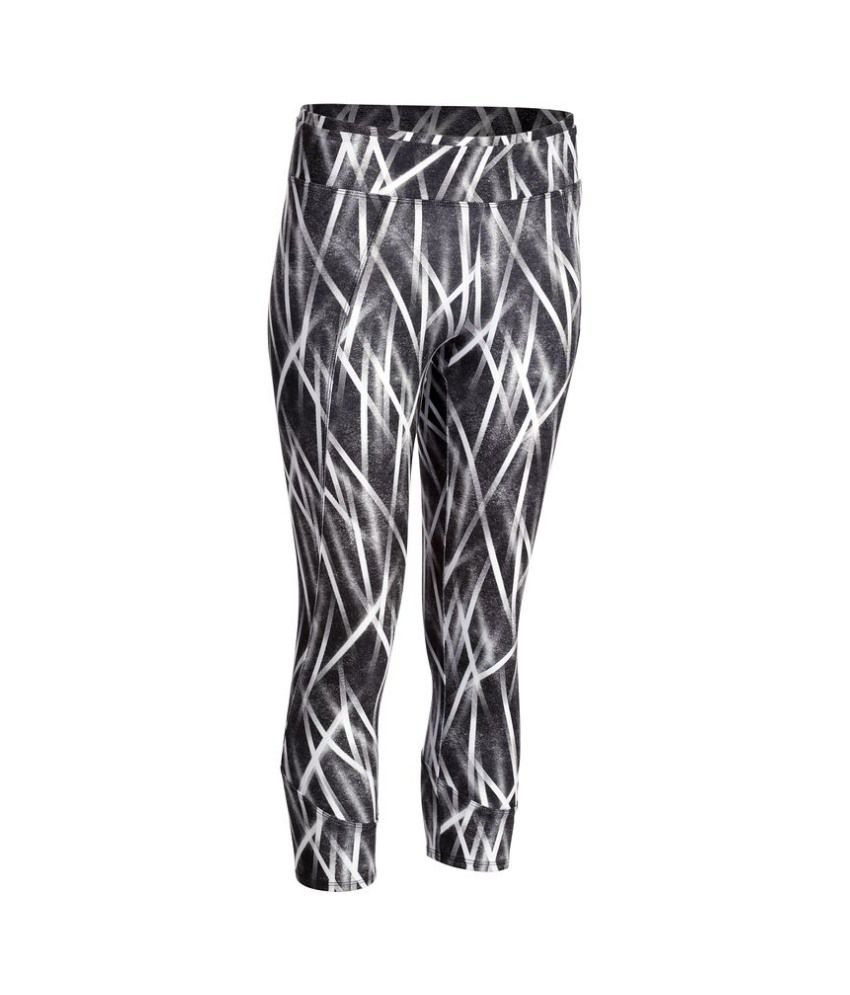 DOMYOS Energy 7/8 Creon Aop Women's Cardio Leggings By Decathlon