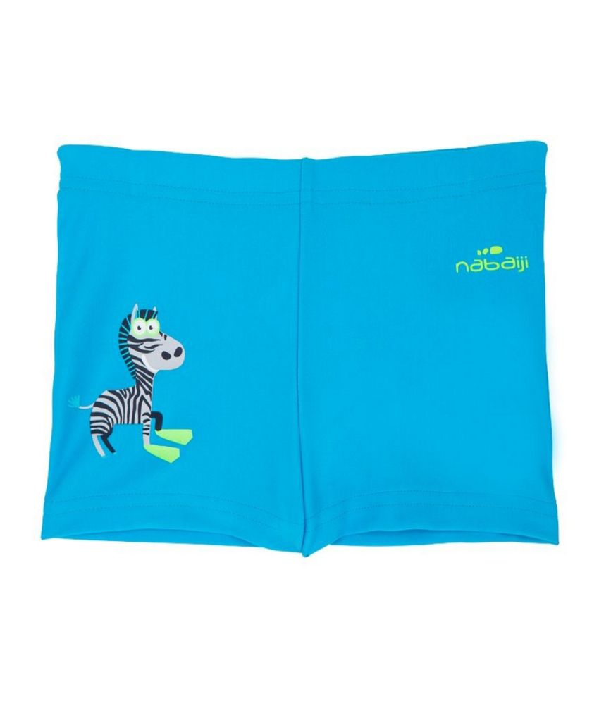 NABAIJI Boxer Titou Zebra Kids Swimwear By Decathlon