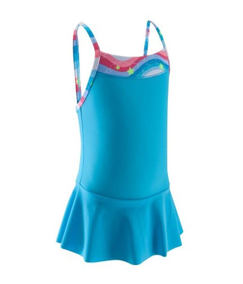 NABAIJI Mad Dress All Bow Girls Swimwear By Decathlon