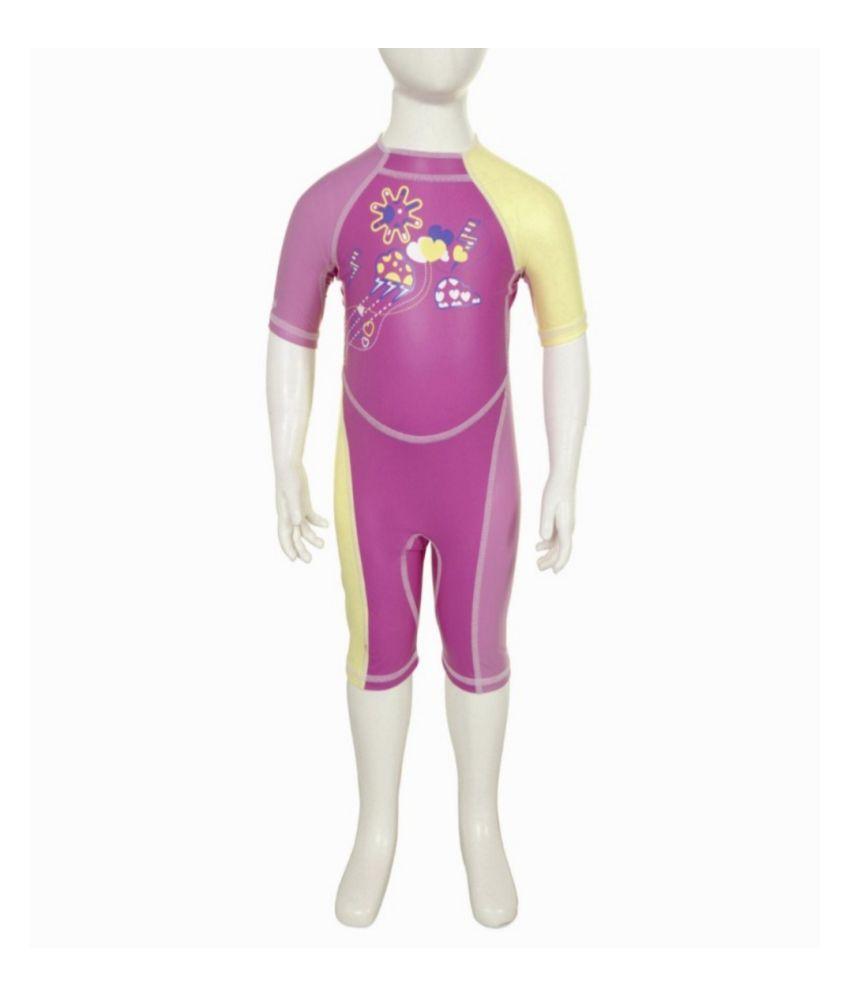 NABAIJI Shorty Kloupi Tulip Kids Swimwear By Decathlon