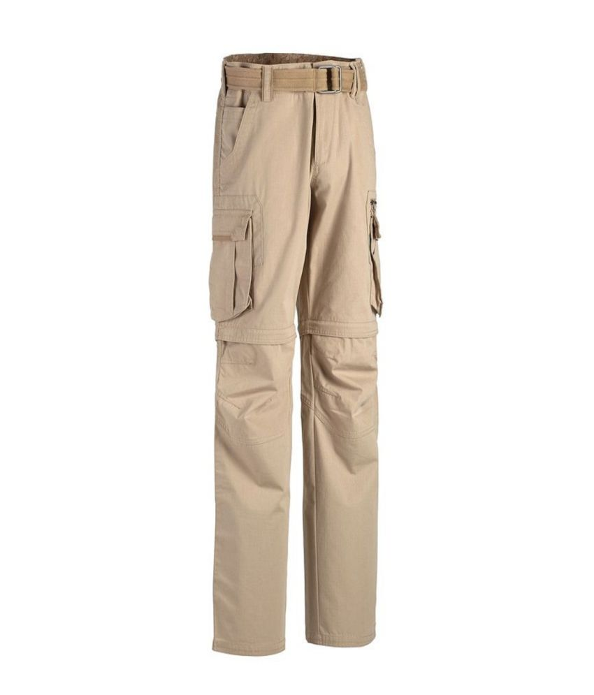 QUECHUA Arpenaz 500 Men's Convertible Hiking Trousers By Decathlon