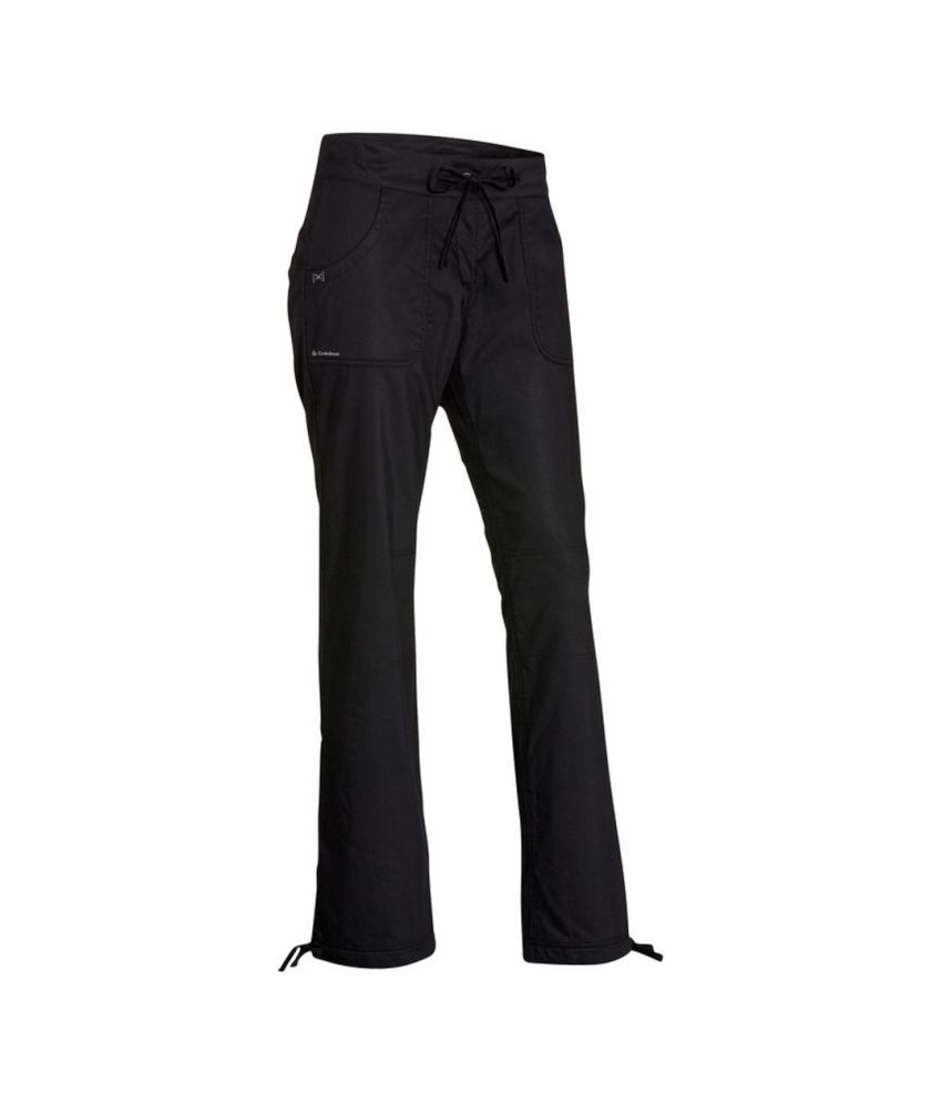 QUECHUA Forclaz 50 Warm Women's Hiking Trousers By Decathlon