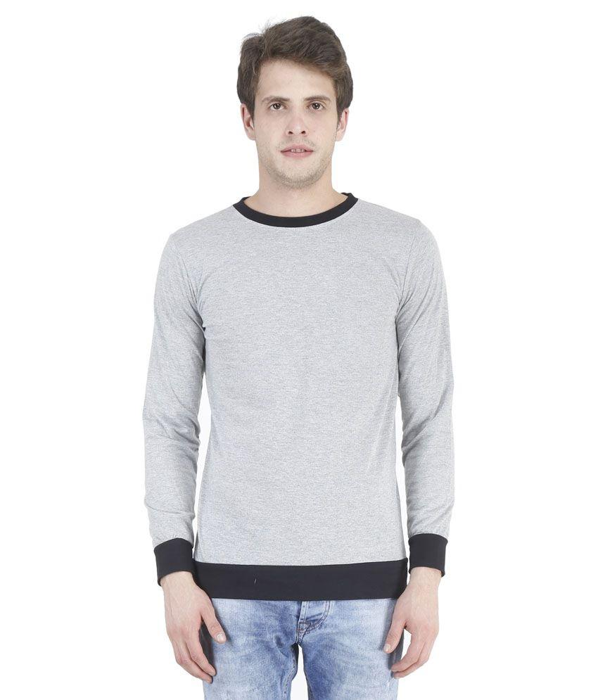 Bonzer Grey Round T Shirts