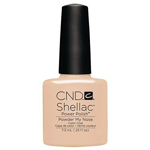 CND Shellac Power Polish - Open Road Collection - Powder My Nose