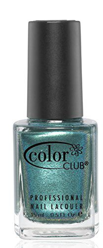 Color Club Imported Color Club Take Wing Nail Polish, Metallic Green, Metamorphosis, .05 Ounce