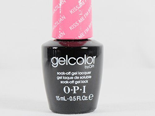 OPI Imported OPI Gel Nail Color, Kiss Me I'm Brazilian, .5 Ounce