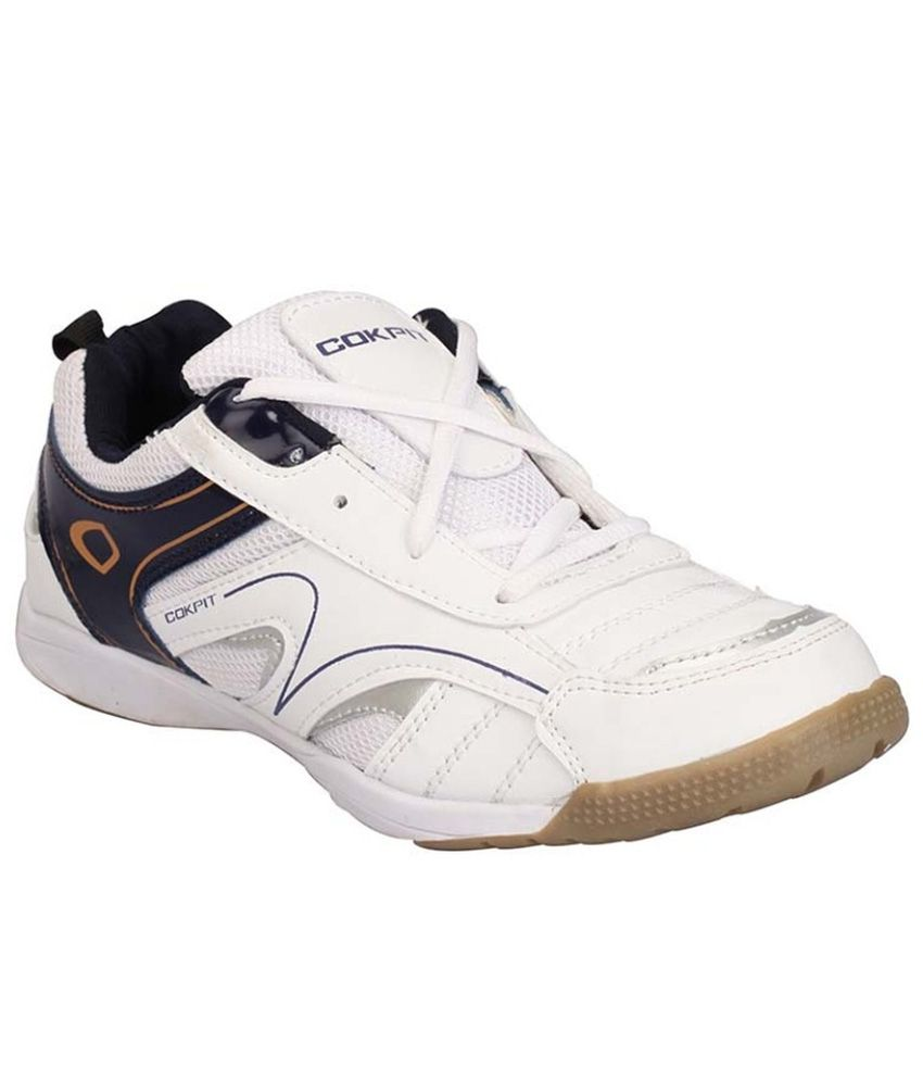 Cokpit White Running Shoes