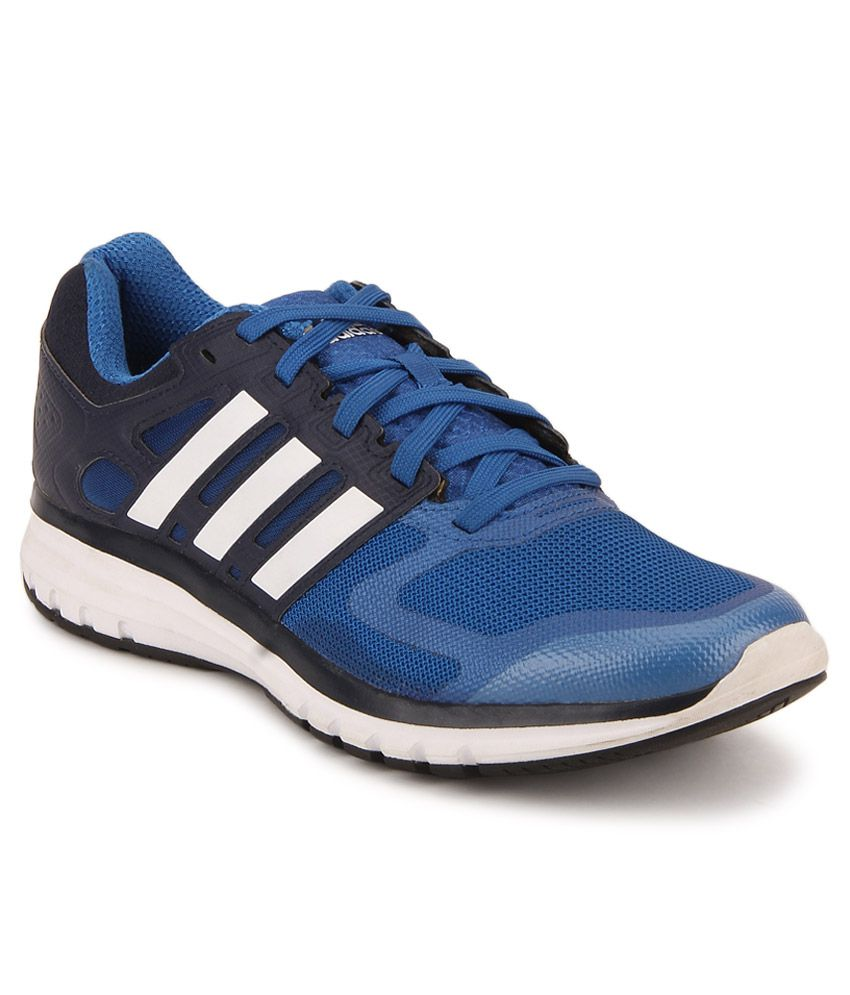 newest f24f0 5f103 Adidas Duramo Elite Blue Running Sports Shoes - Buy Adidas Duramo Elite  Blue Running Sports Shoes Online at Best Prices in India on Snapdeal