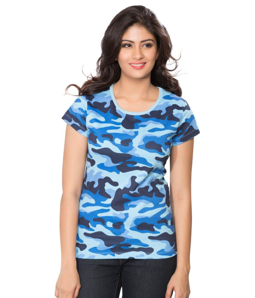 Clifton Blue Army T-shirt for Women