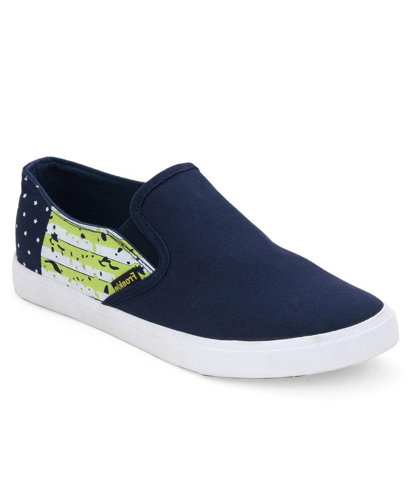 Froskie Blue Canvas Shoes