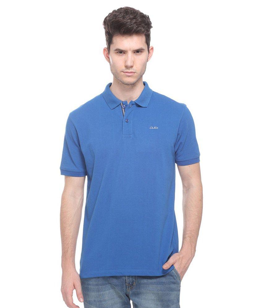 Octave Blue Henley T Shirts