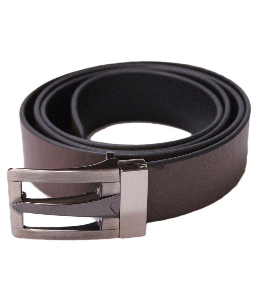 U.S. Polo Assn. Brown Leather Belt For Men