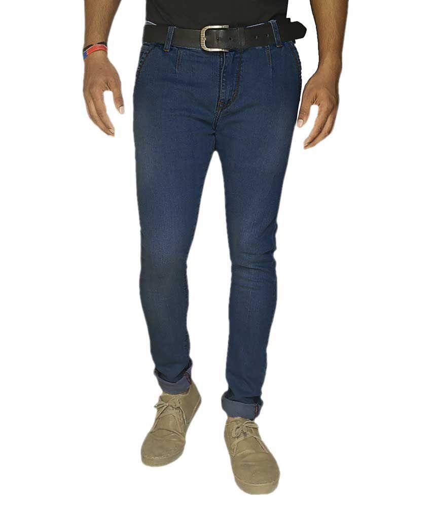 Damler Blue Slim Fit Jeans Single