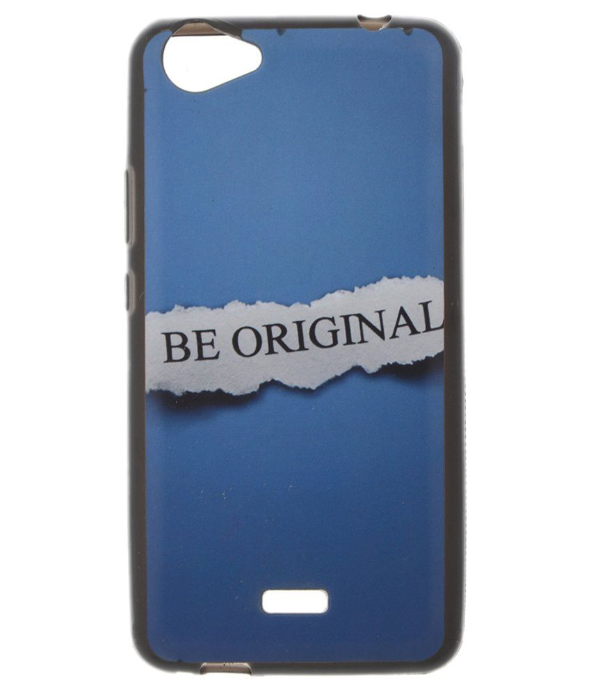 new product 0e86e 542a7 Micromax Bolt Q338 Back Cover by Iway - Blue