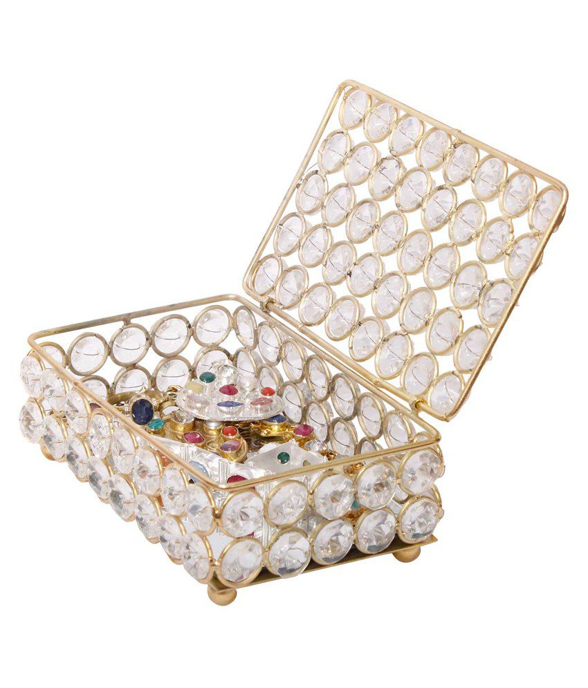 Jaipur Raga Brass Jewellery Box