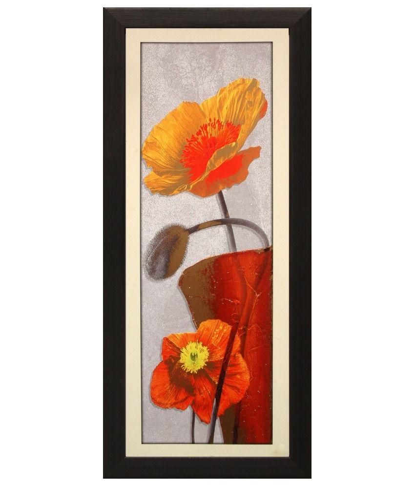 SAF Textured Art Print with Frame