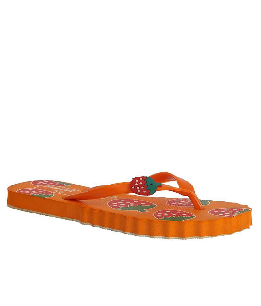 VE Sweet Orange Slippers & Flip Flops