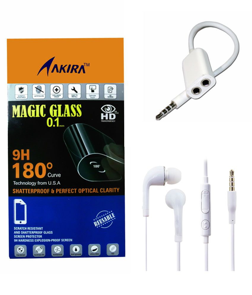 IMPOSSIBLE GLASS AND EARPHONE Screen Guard by AKIRA