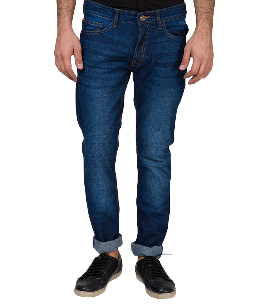 Highlander Blue Slim Fit Jeans