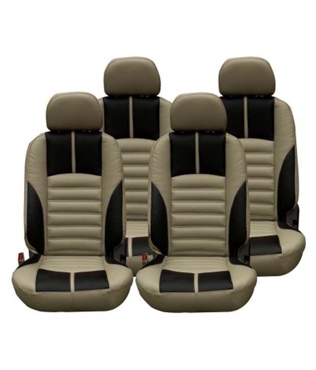 Musicar Seat Cover For Toyota Etios Liva Beige Buy