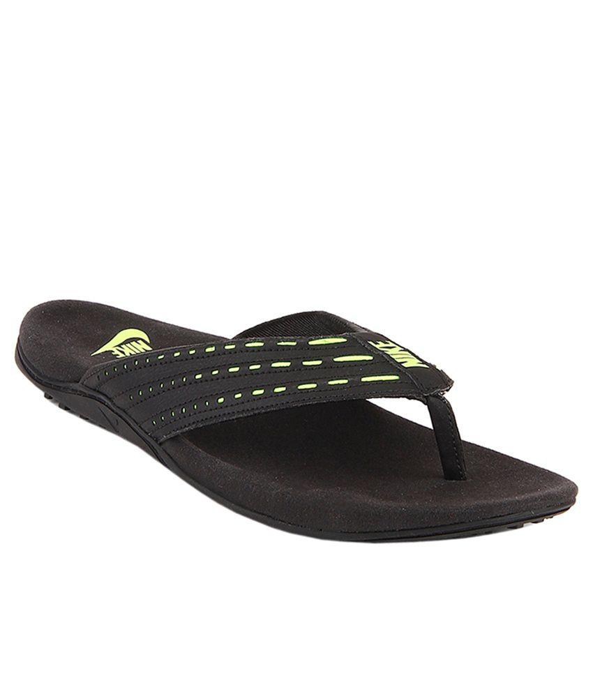 95098551724 Nike Keeso Thong Black - Volt Flip Flops Price in India- Buy Nike Keeso  Thong Black - Volt Flip Flops Online at Snapdeal