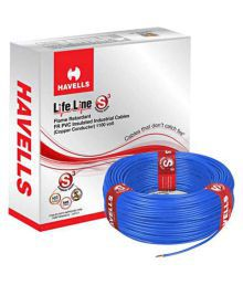 Havells PVC Insulated Core Cable - 1.5MM (Pack Of 2) - 682862627959