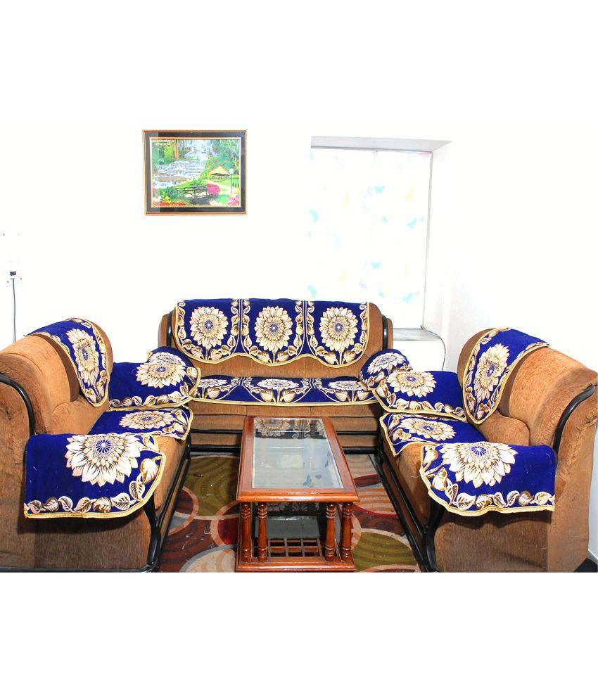 Fab Nation Luxury Designer Sofa Covers With Arms Set Of