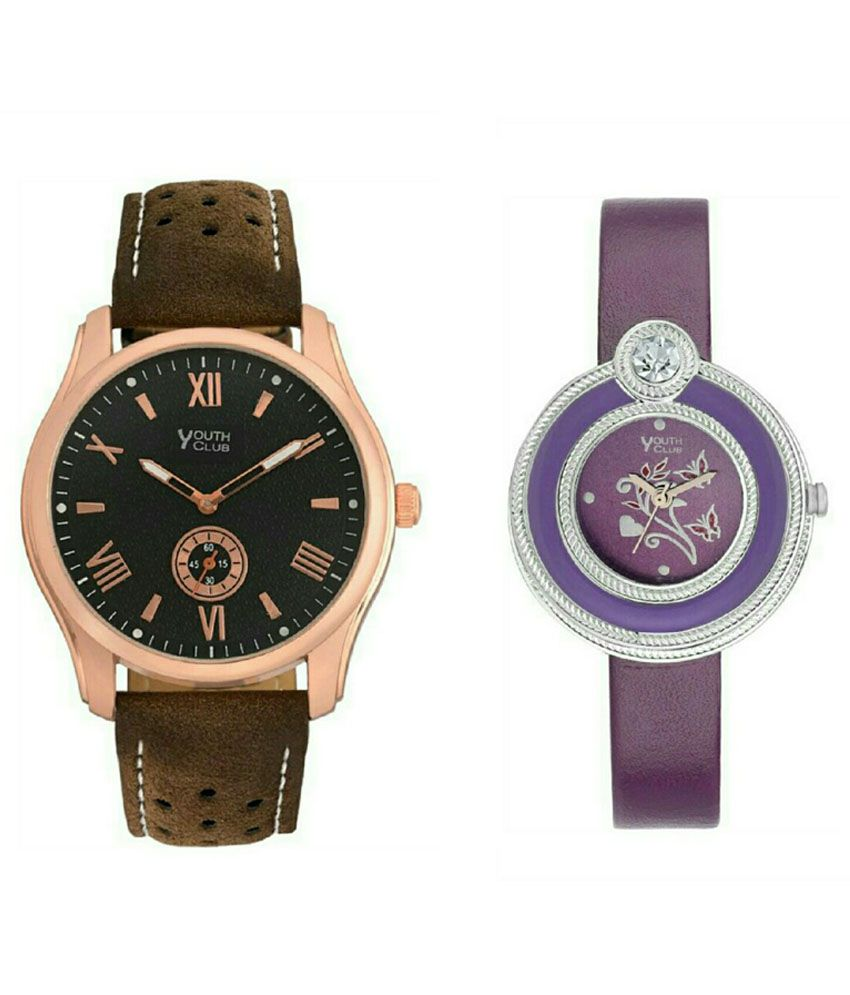 Romex Super Youth Club Multicolour Analog Couple Watch