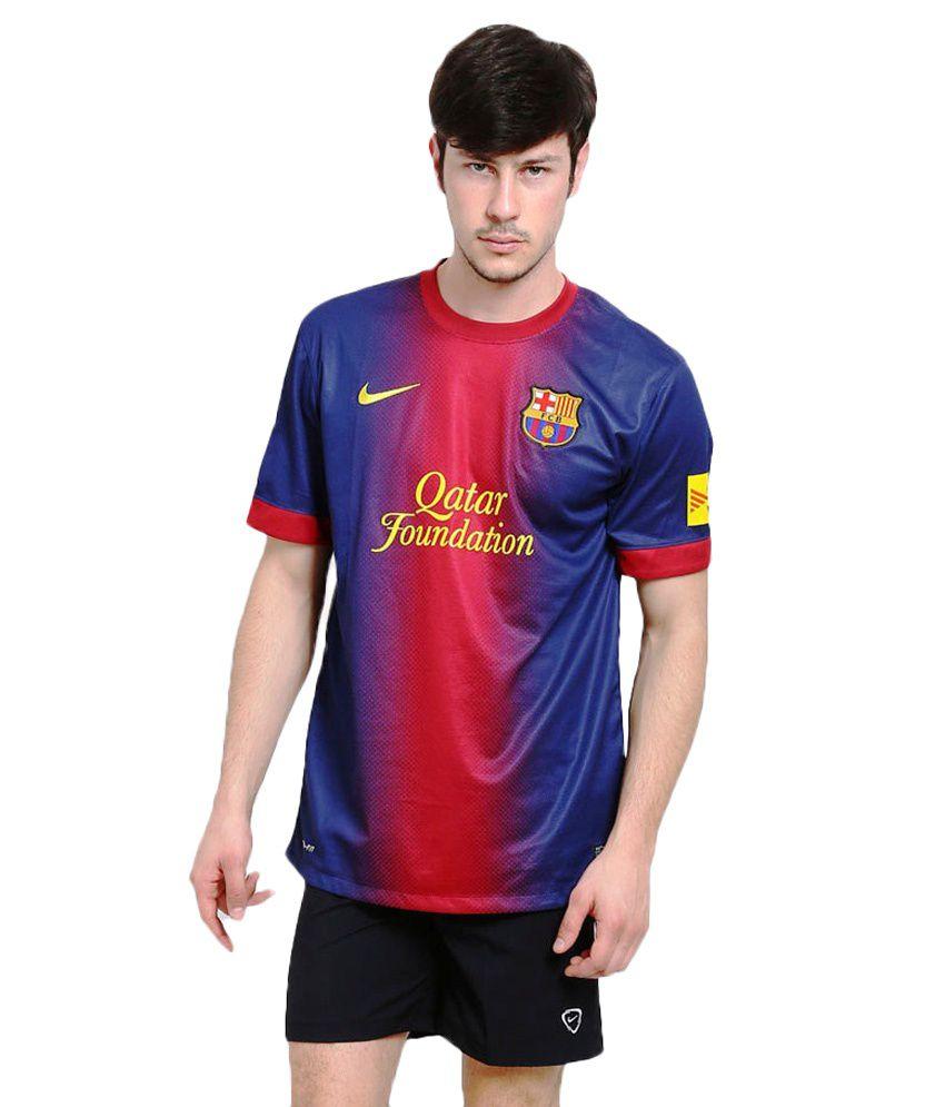 Nike Blue Barcelona Jersey