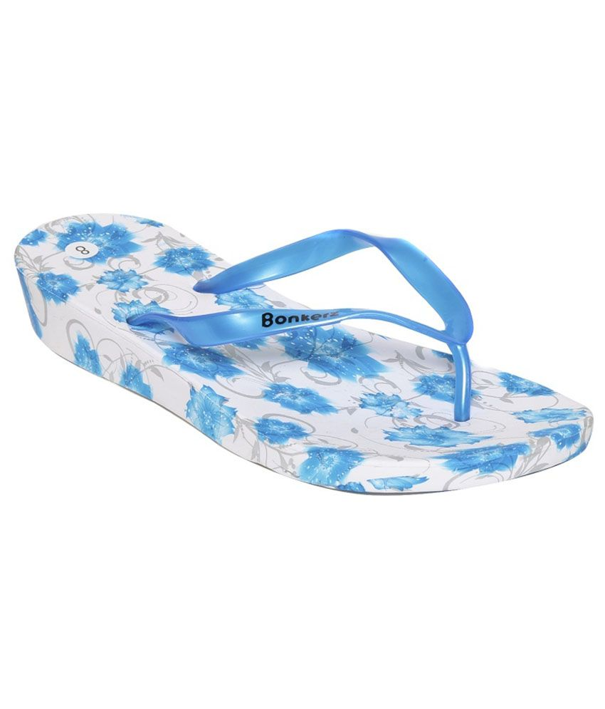 aa4456db6d88 Bonkerz Blue Slippers Price in India- Buy Bonkerz Blue Slippers Online at  Snapdeal