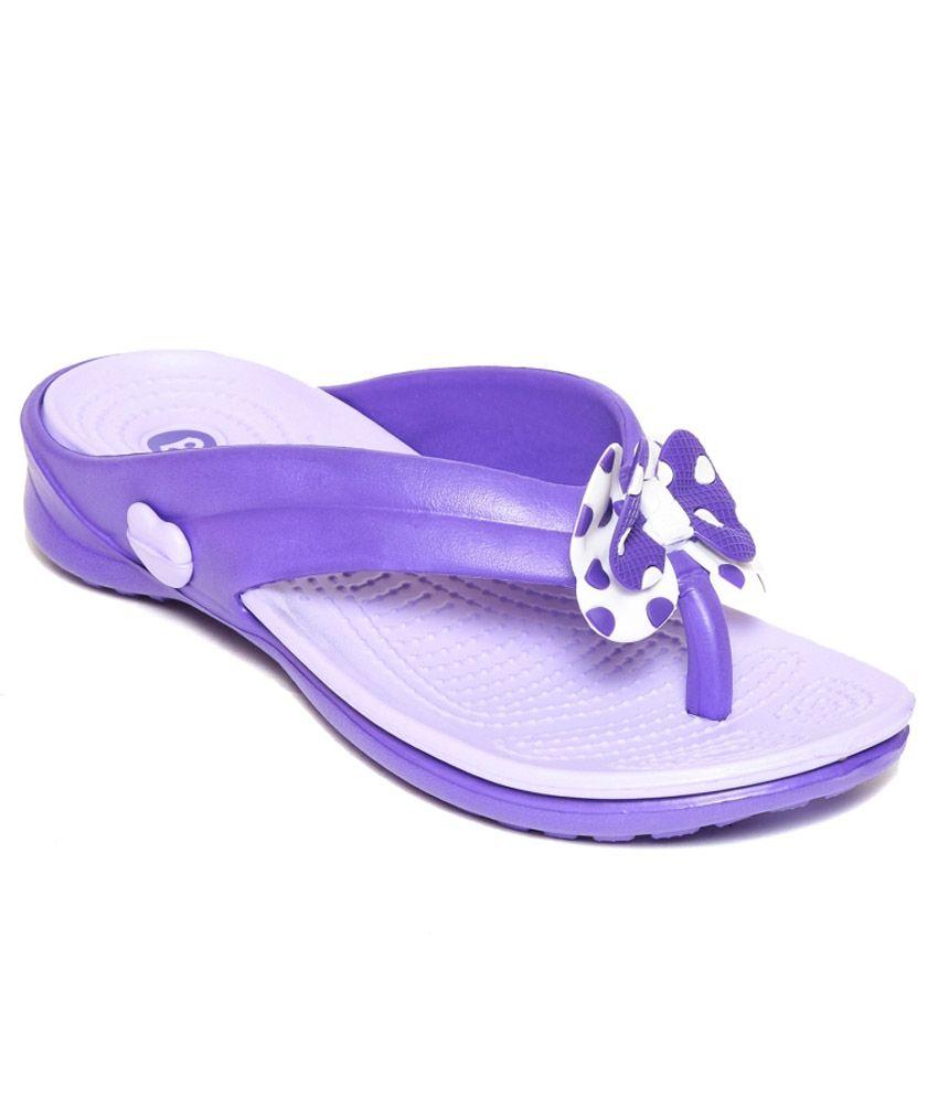 3bc40b1b21ca Bonkerz Purple Slippers Price in India- Buy Bonkerz Purple Slippers Online  at Snapdeal