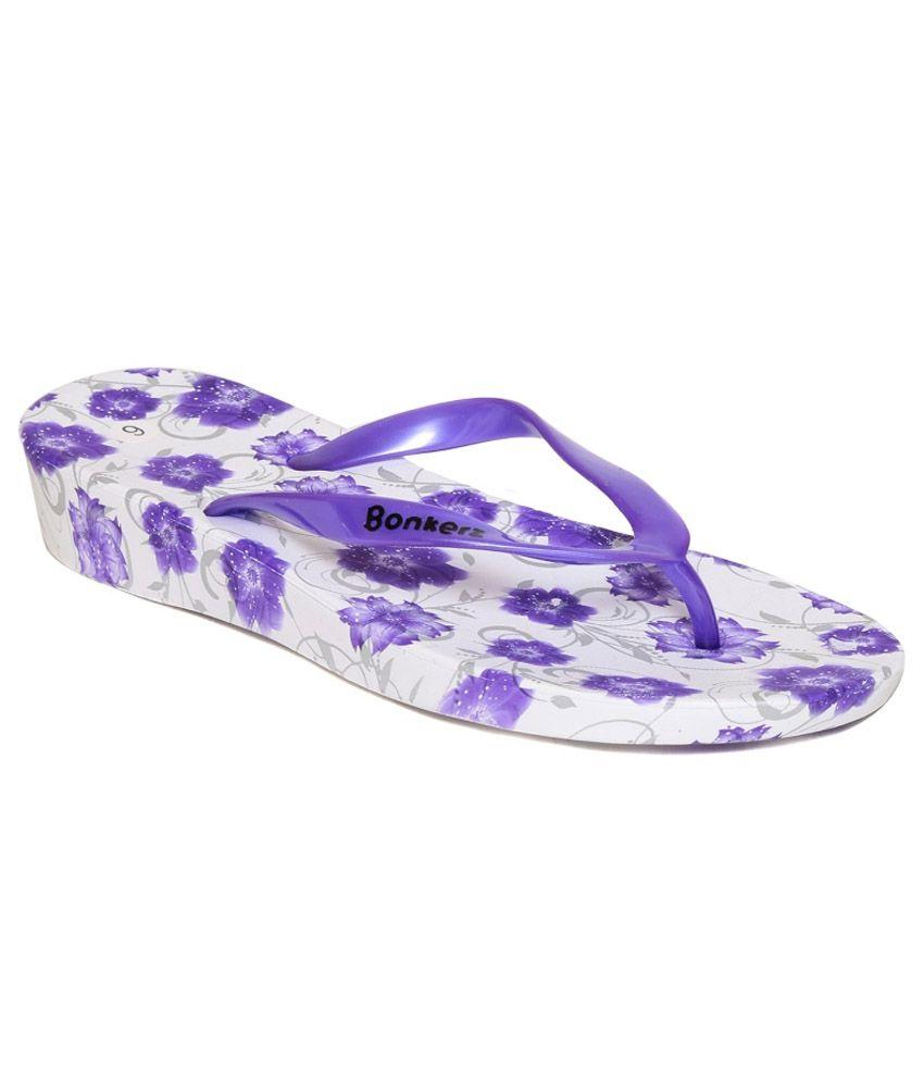 Bonkerz Purple Slippers