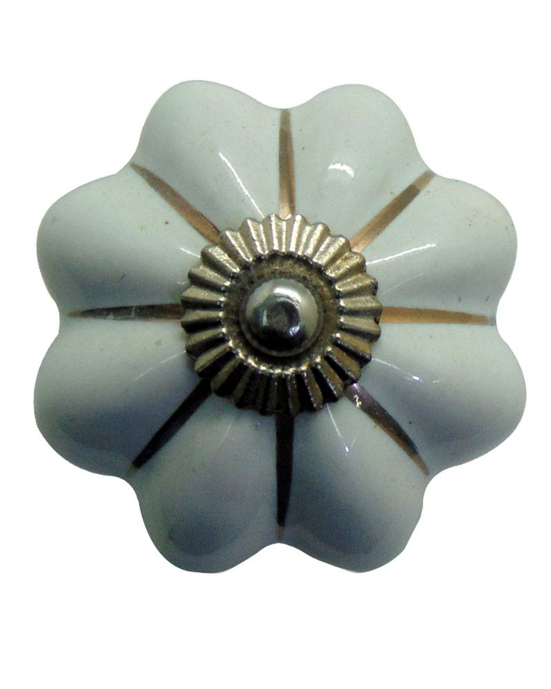 Buy Casa Decor White Door Knobs Set Of 4 Online At Low Price In