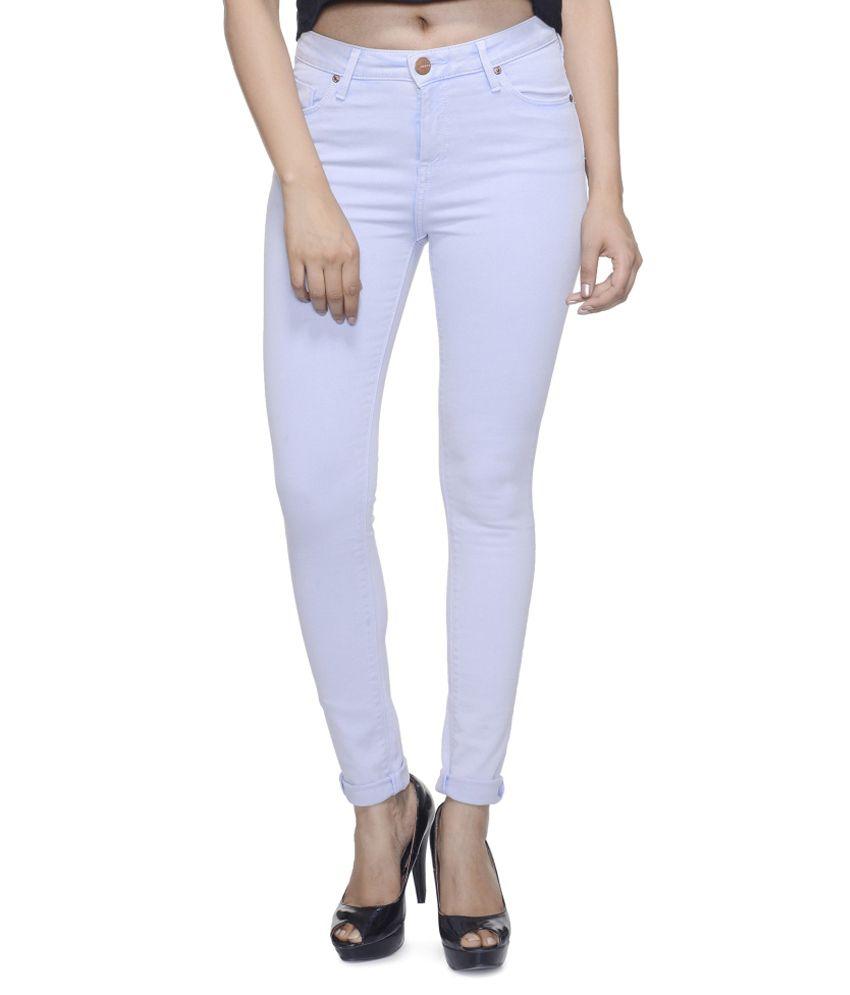 Addyvero White Denim Jeans