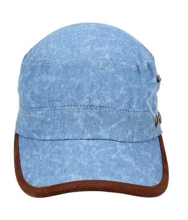 Eccellente Blue Cotton Tennis Cap