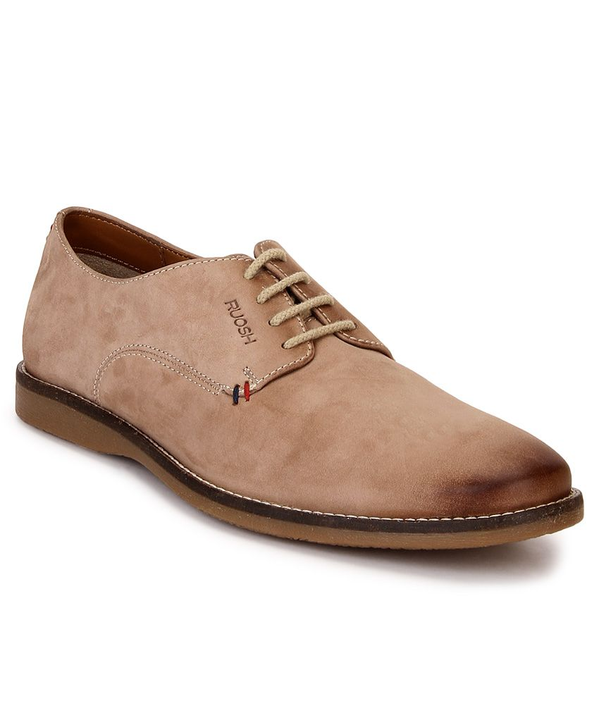 Ruosh Tan Lifestyle Casual Shoes - Buy
