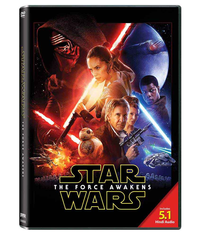 Star Wars The Force Awakens Dvd English Buy Online At Best Price