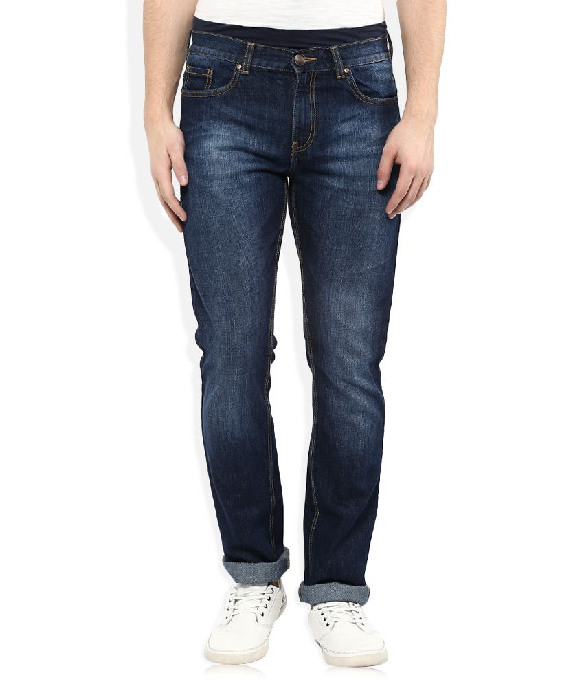 VUDU Blue Slim Fit Jeans