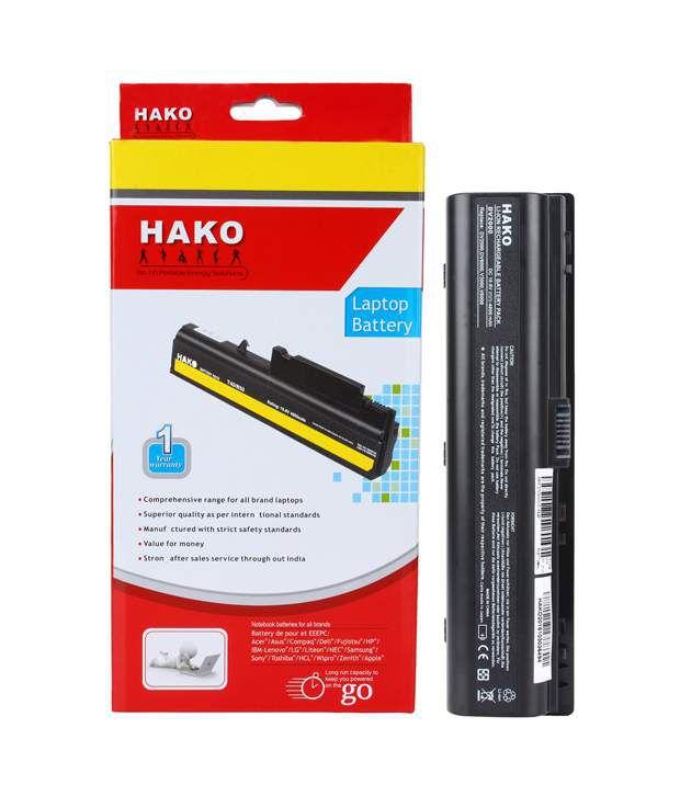 Hako HP Compaq Pavilion Dv2000 Dv2200 Dv2300 Dv2400 Dv2600 Dv2700 Dv6000 Dv6100 Dv6200 6 Cells Laptop Battery