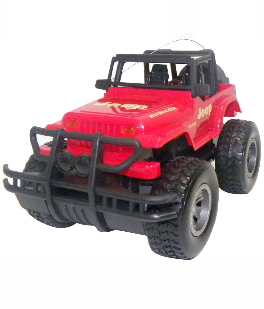 Toysbuggy Red Remote Control Urban Wrangler Jeep