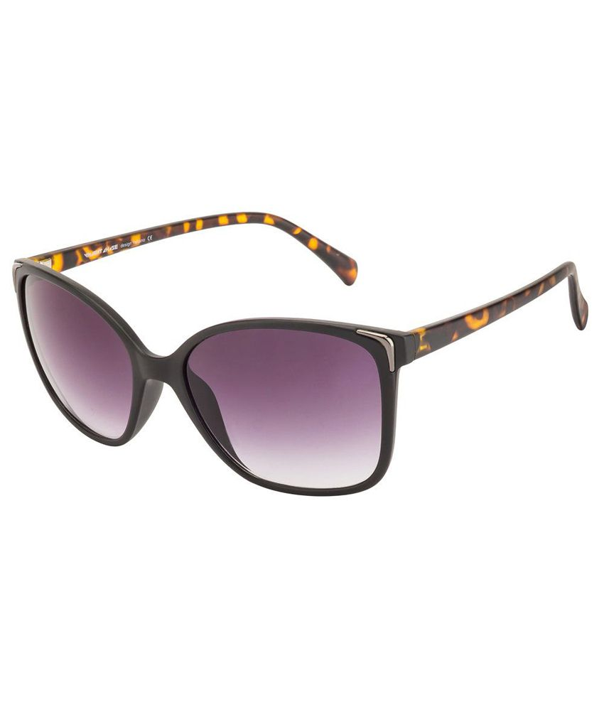 Vincent Chase Gray Cat Eye Sunglasses