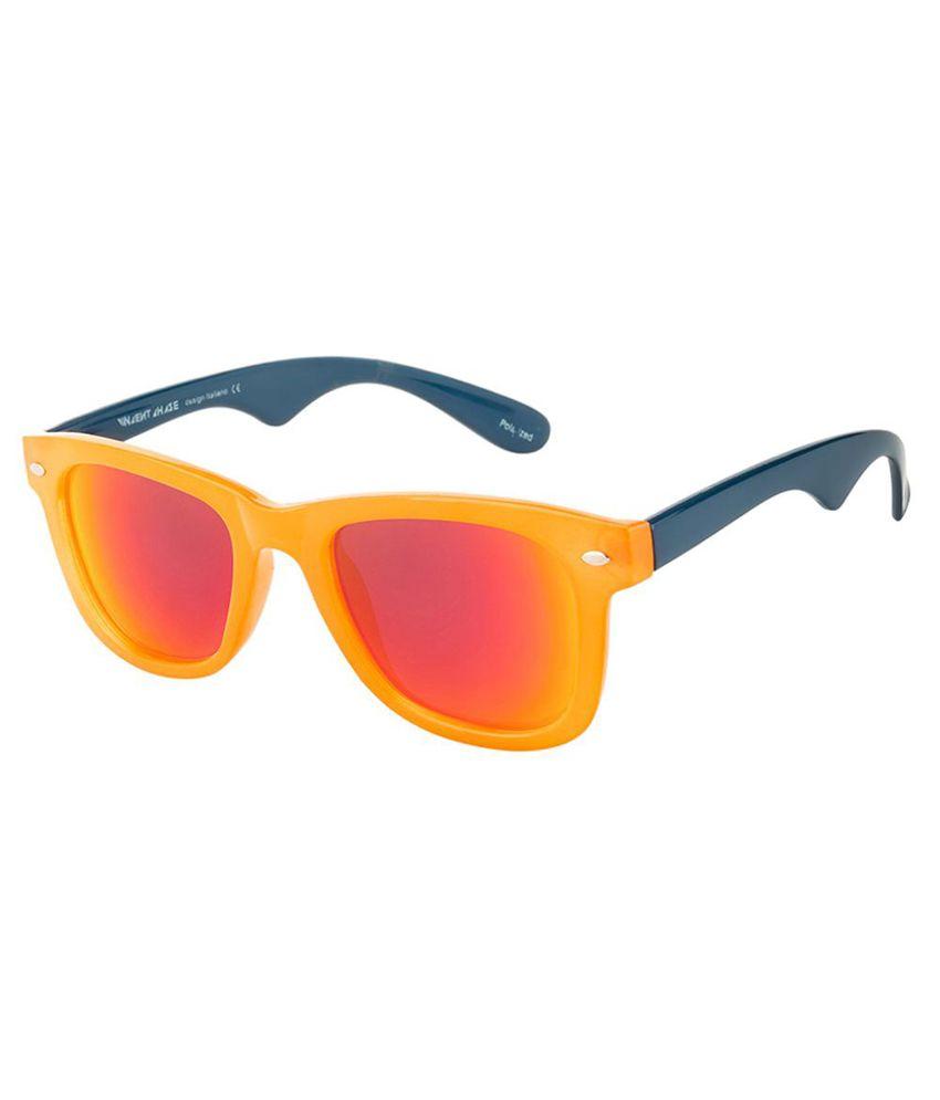 Vincent Chase Red Wayfarer Sunglasses