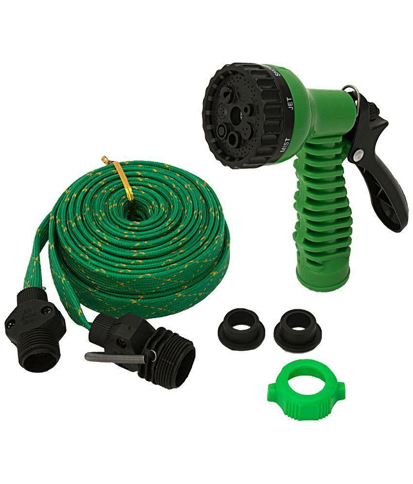 Wonder 30 Feet Unbreakable Water Spray Gun - Green