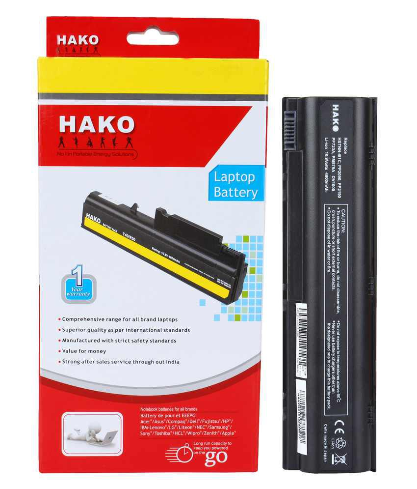Hako 6 Cell Laptop Battery for HP Compaq Presario V2000 M2000