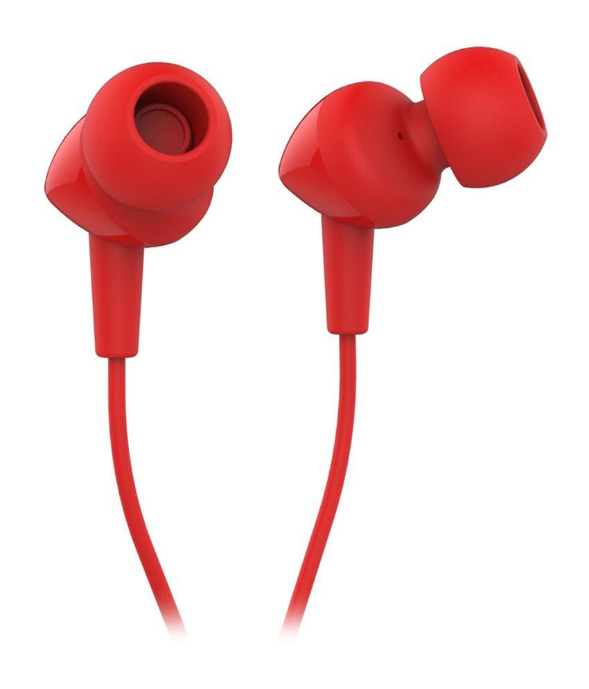 5f7d417fe41 JBL C100SI In Ear Wired Earphones With Mic Red - Buy JBL C100SI In ...