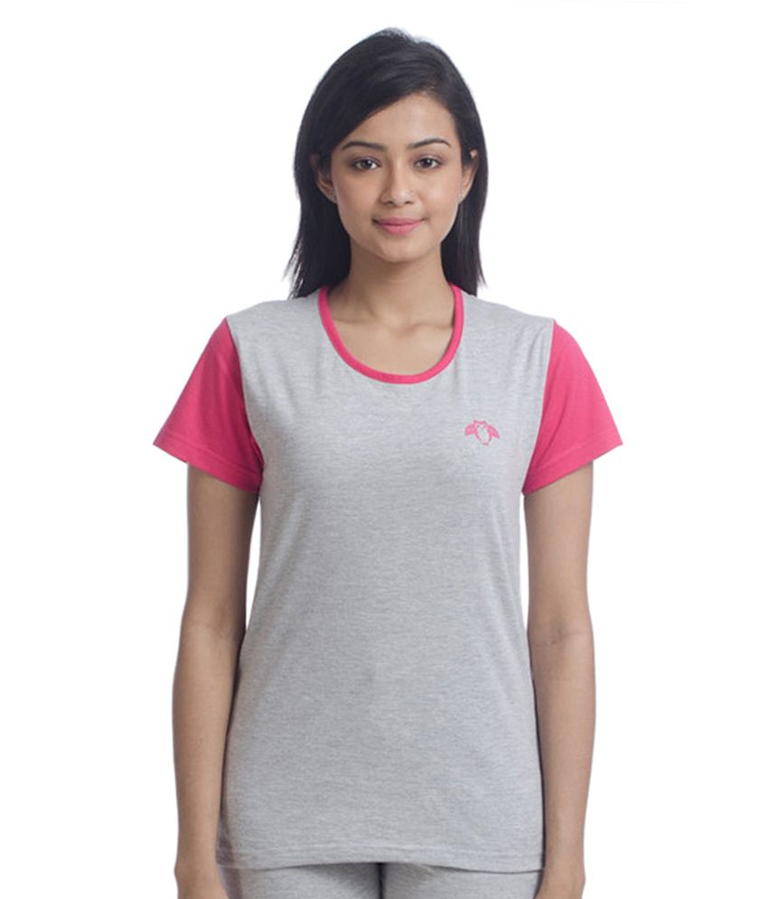 Nite Flite Colour Block Cotton top