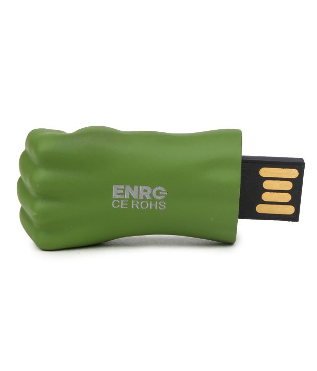ENRG Hulk Hand Green PS/2 Mouse