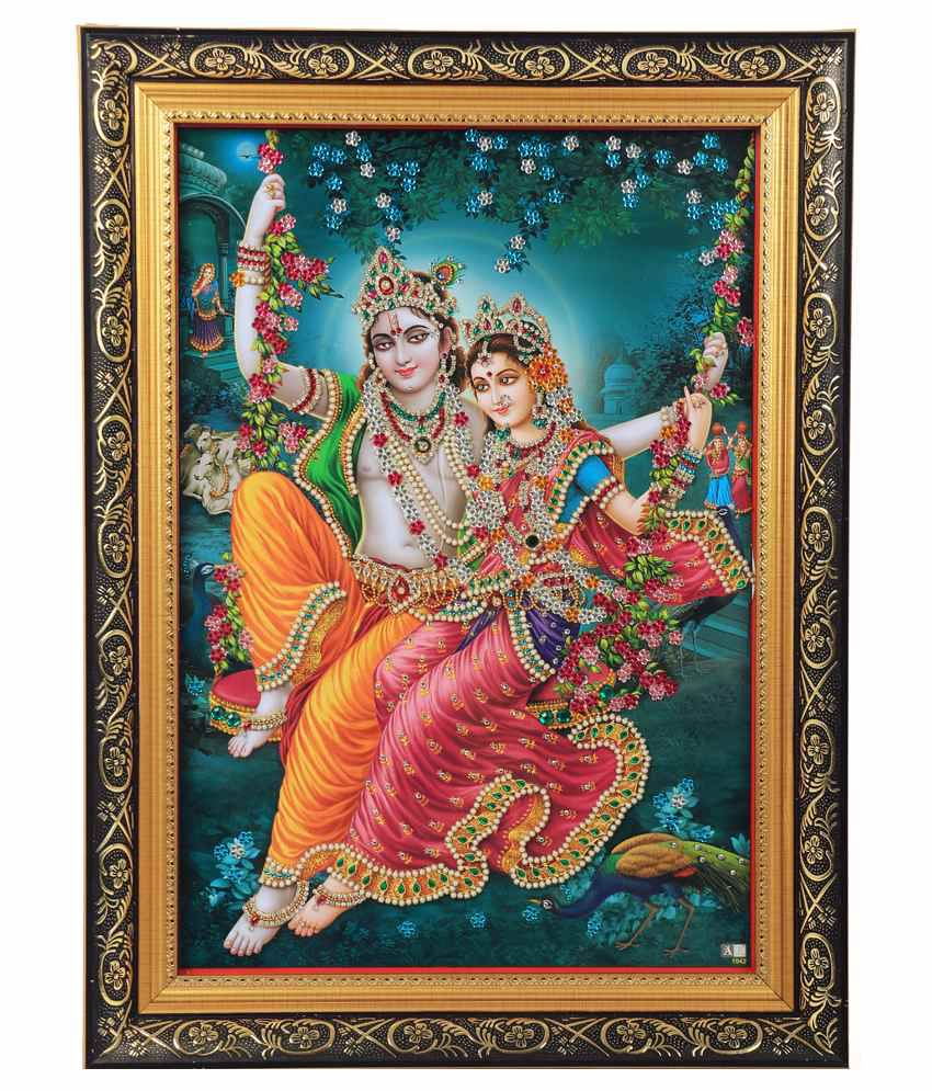 Agroha Consumer Products Religious Painting with Frame - Pack of 2